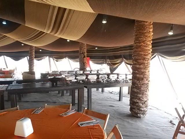 בר מצווה במצדה - סעודת מצווה במדבר