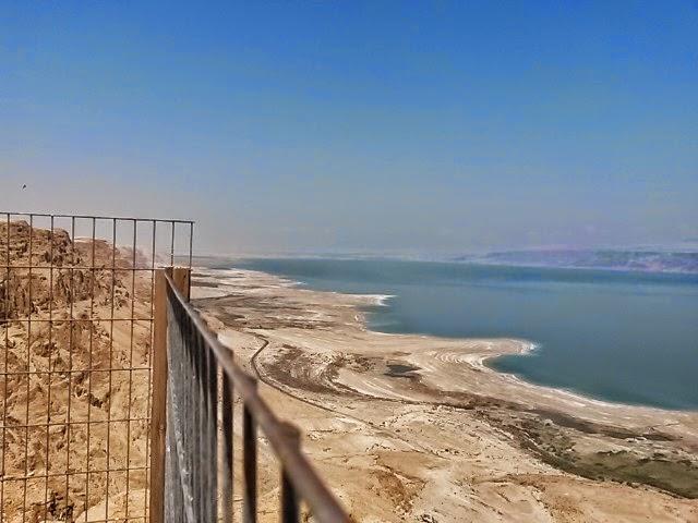 נופים עוצרי נשימה באיזור ים המלח והמצדה